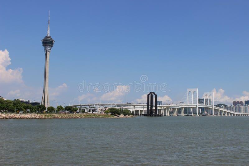 Sai范bridge 免版税库存图片