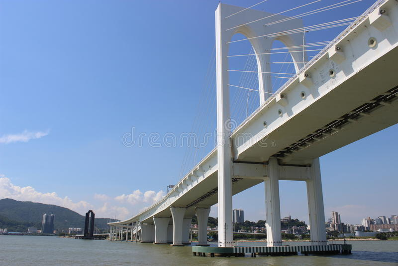Sai范bridge 免版税库存照片