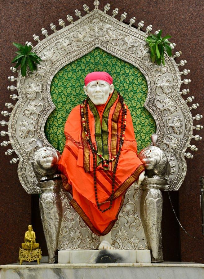 Sai Baba fotografia stock