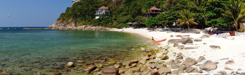 Sai Daeng plaża koh Tao Chumphon archipelag Tajlandia zdjęcia royalty free