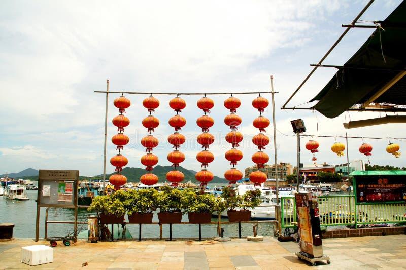 Sai Kung molo, Hong Kong zdjęcia royalty free