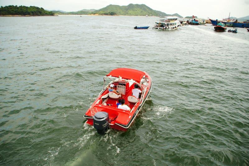 Sai Kung Pier, Hong Kong immagini stock libere da diritti