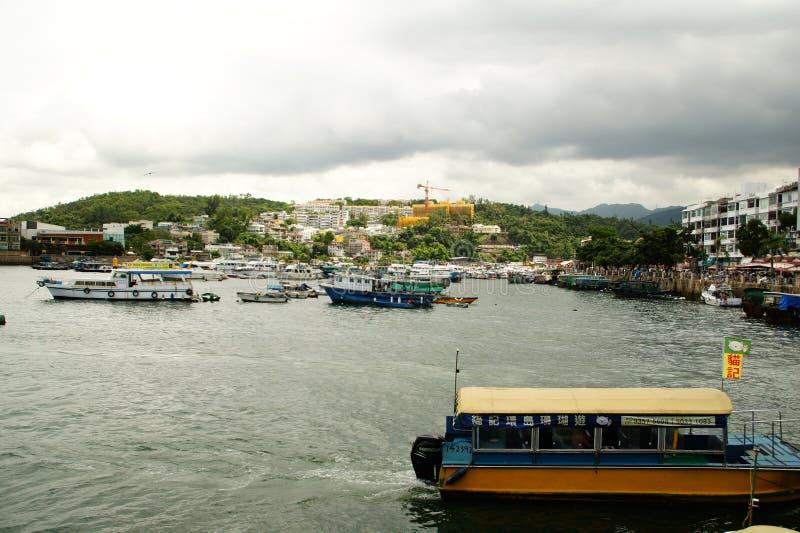 Sai Kung Pier, Hong Kong images stock