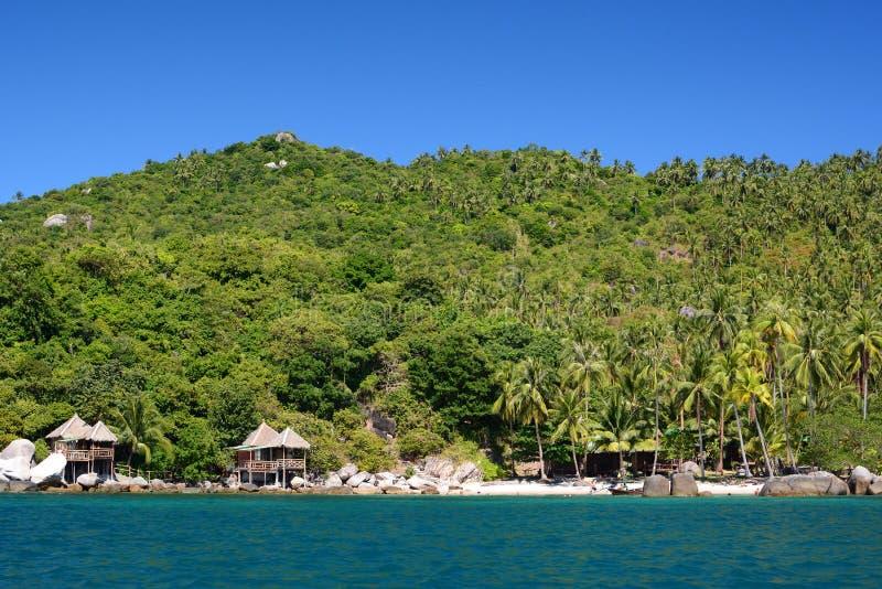 Sai Nuan plaża koh Tao Chumphon archipelag Tajlandia obrazy royalty free