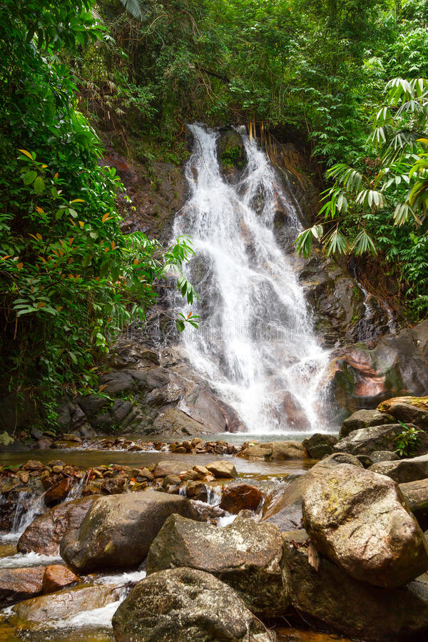 Download Sai Rung Waterfall In Thailand Stock Photo - Image: 28855588