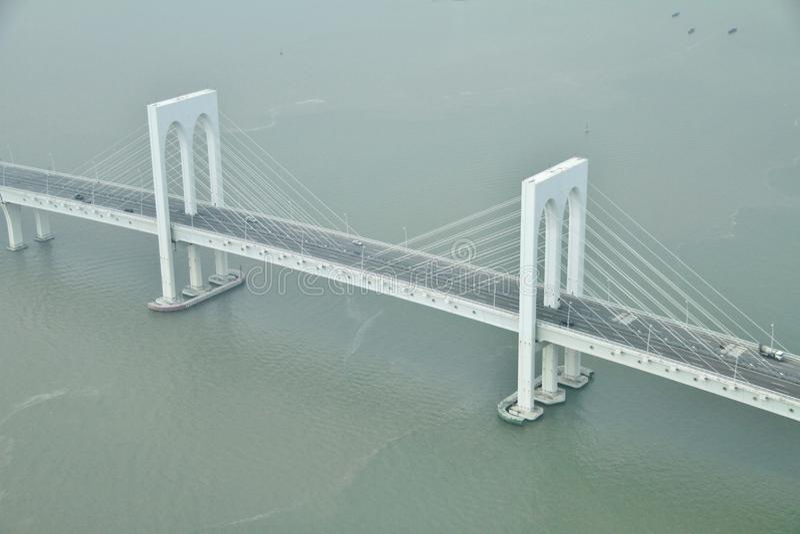 Sai Van bridge στο Μακάο στοκ φωτογραφία με δικαίωμα ελεύθερης χρήσης