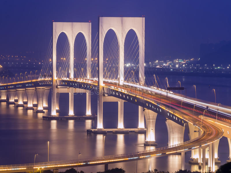 Sai Van bridge στοκ εικόνες με δικαίωμα ελεύθερης χρήσης
