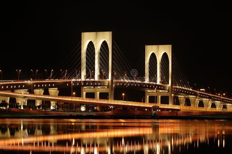 Sai Van bridge, Macau imagen de archivo
