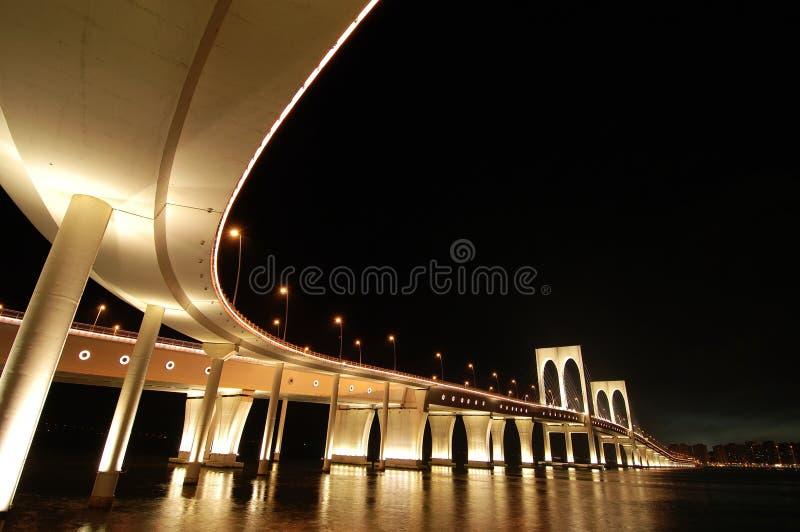 Sai Van bridge, Macau imagen de archivo libre de regalías