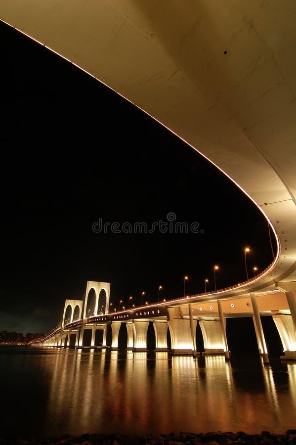 Sai Van ponte, Macau imagens de stock