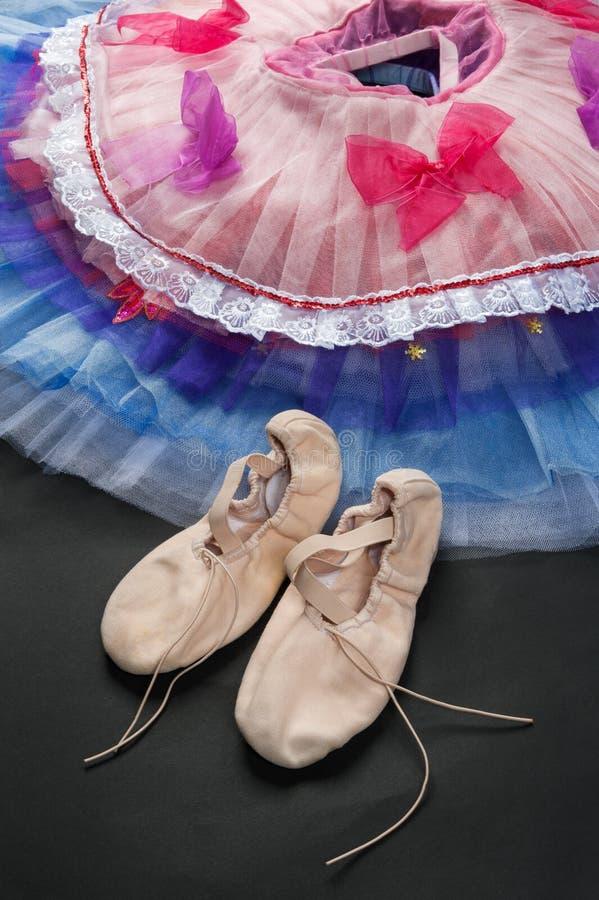 Saia e planos da dança fotografia de stock