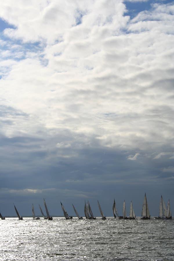 Saiboats Royalty-vrije Stock Foto