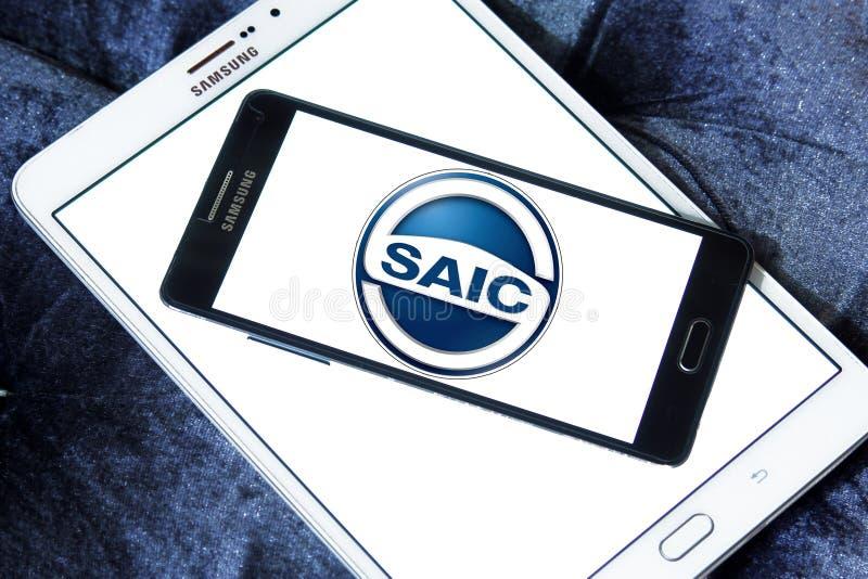 SAIC silnika logo fotografia royalty free