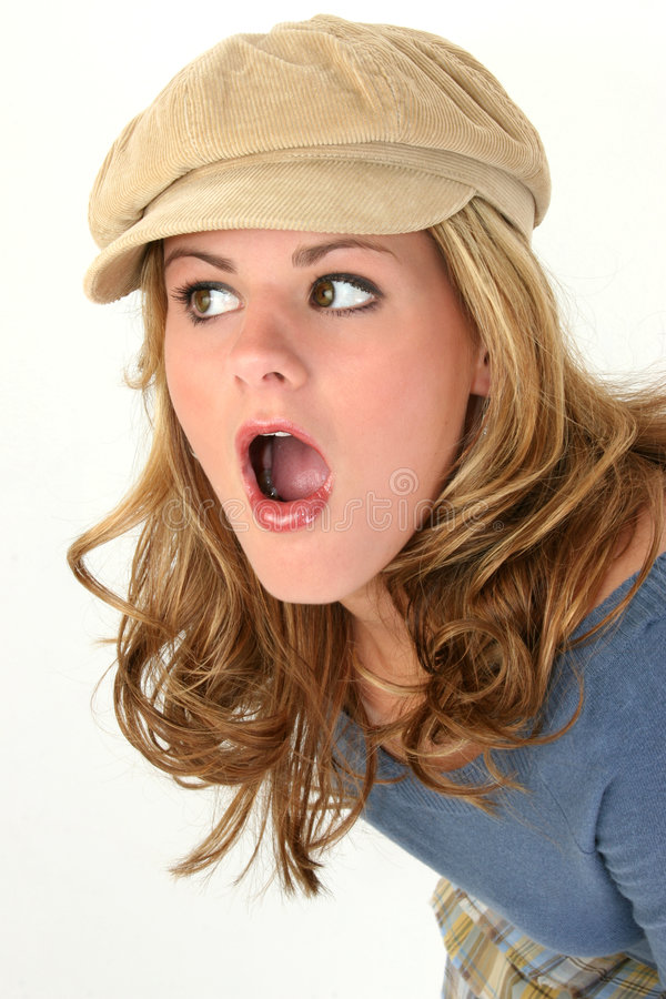 She Said What? royalty free stock image