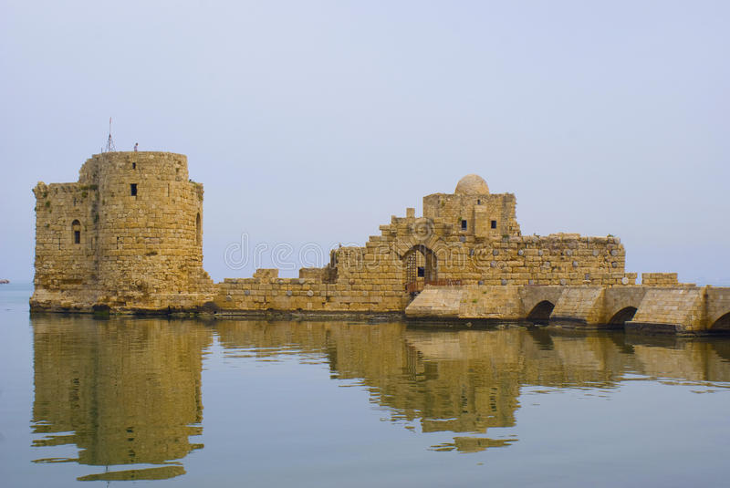 Download Saida Castle stock image. Image of place, ancient, history - 14326849