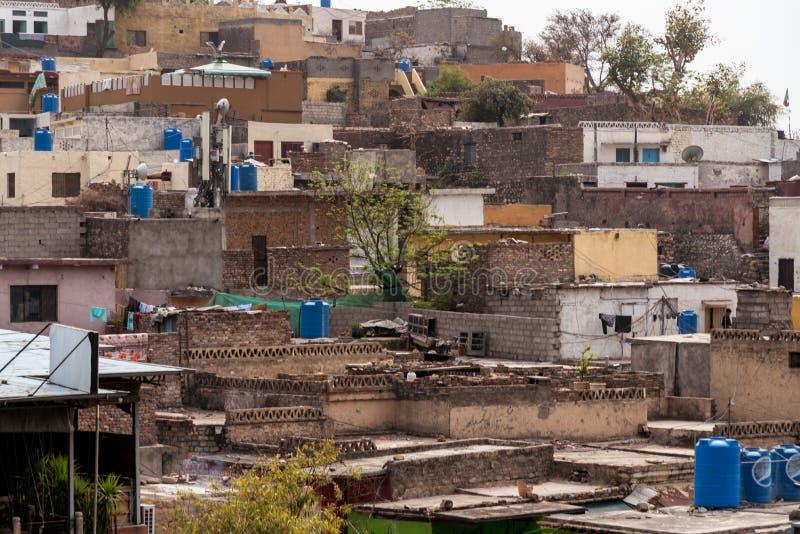Saidpur-Dorf Islamabad lizenzfreies stockbild