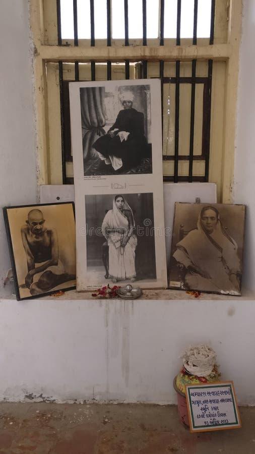 Saifee-Landhaus, Surat, Indien stockfotos