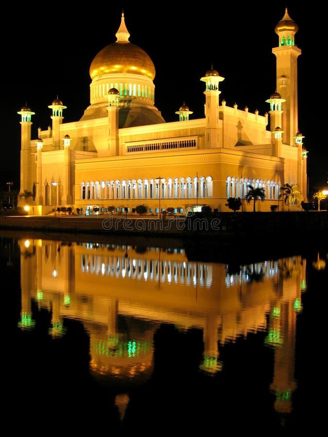Download Saifuddin D'Omar De Mosquée D'ali Photo stock - Image du lotus, vieux: 8670984