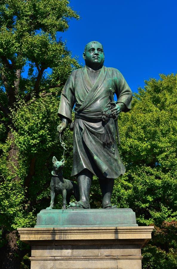 Saigo Takamori, el samurai pasado imagen de archivo