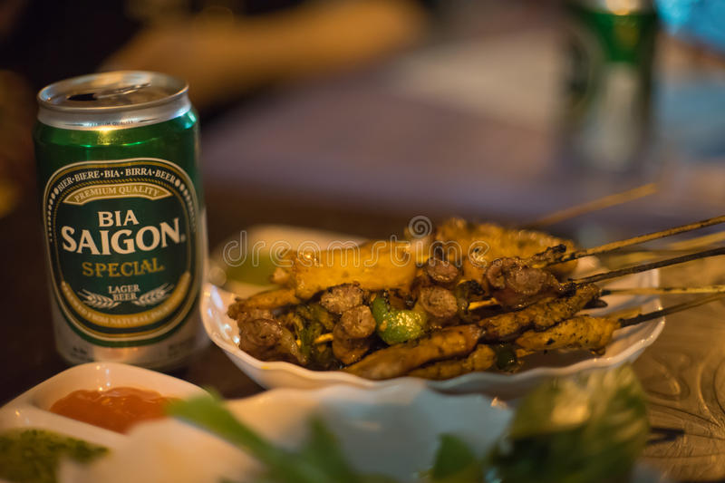 Saigon Beer royalty free stock photos
