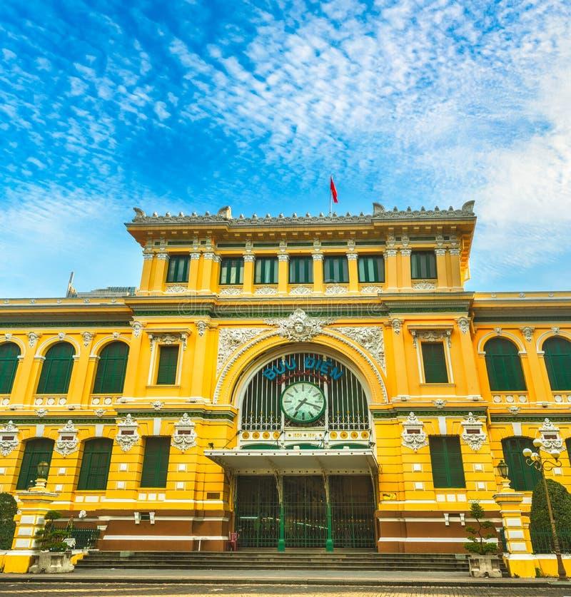 Saigon Central Post Office, Vietnam Stock Image