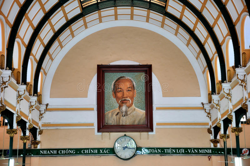 Download Saigon Central Post Office, Vietnam Editorial Image - Image: 28933410