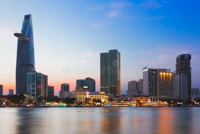 SAIGON (HO CHI MINH VILLE), VIETNAM - JANVIER 2014 image stock