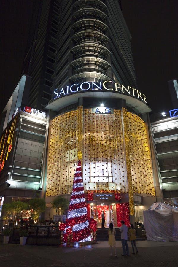 Saigon-Mitteeinkaufszentrum stockfotografie
