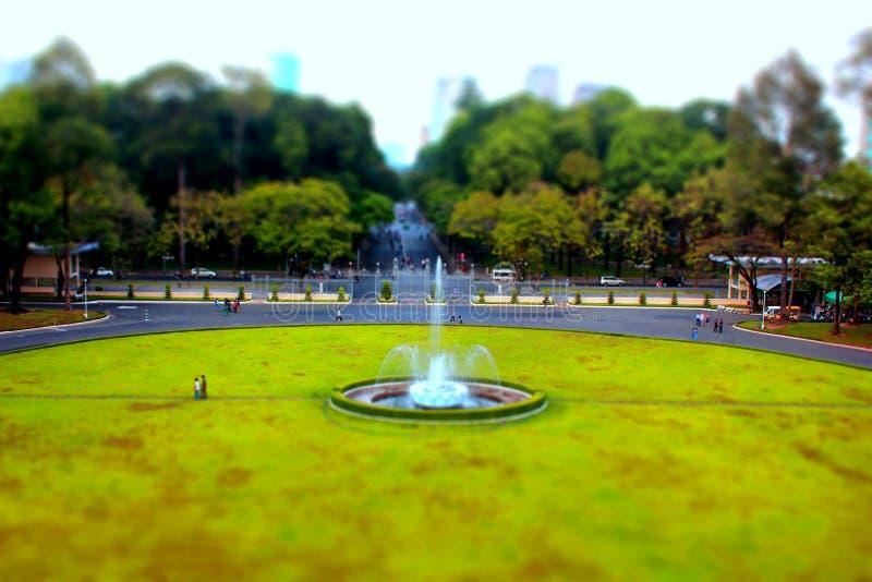 Saigon niezależności pałac zdjęcie stock