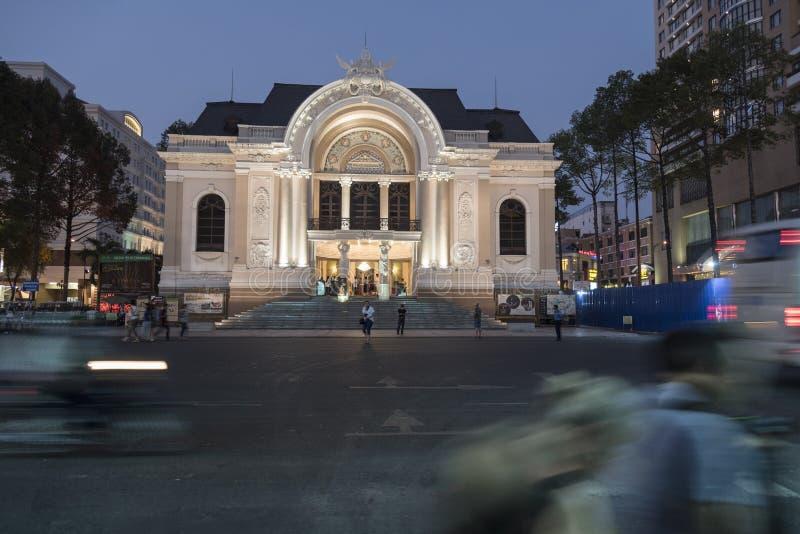 Saigon-Opernhaus (Ho Chi Minh City) lizenzfreie stockfotografie