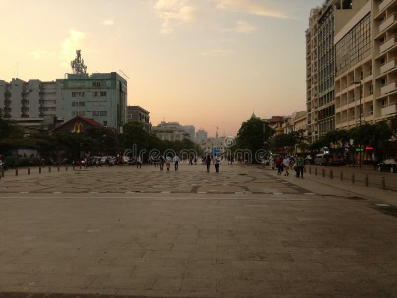 Saigon półmrok obraz stock