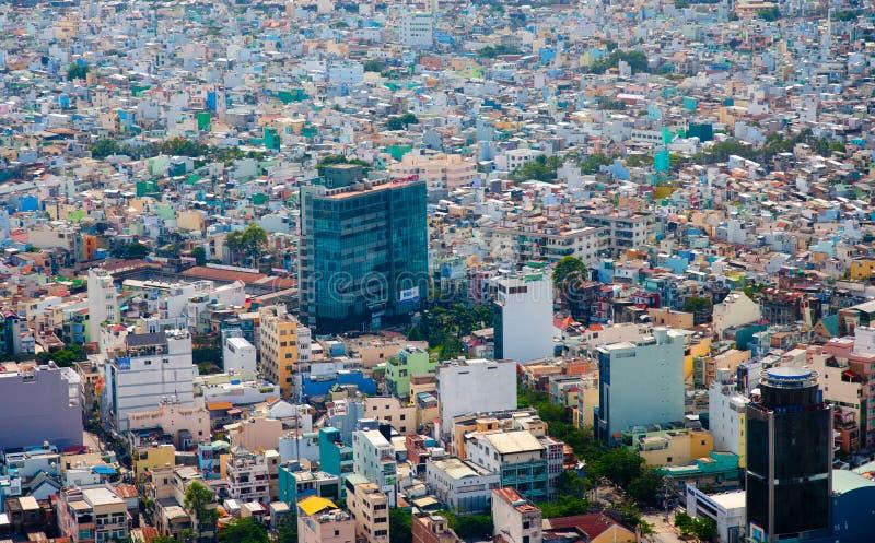 Saigon skyline royalty free stock photo