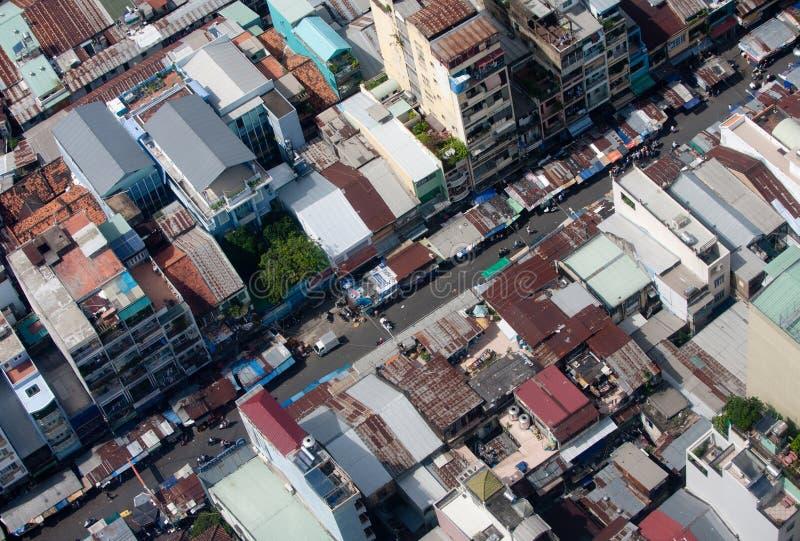 Saigon skyline royalty free stock photos