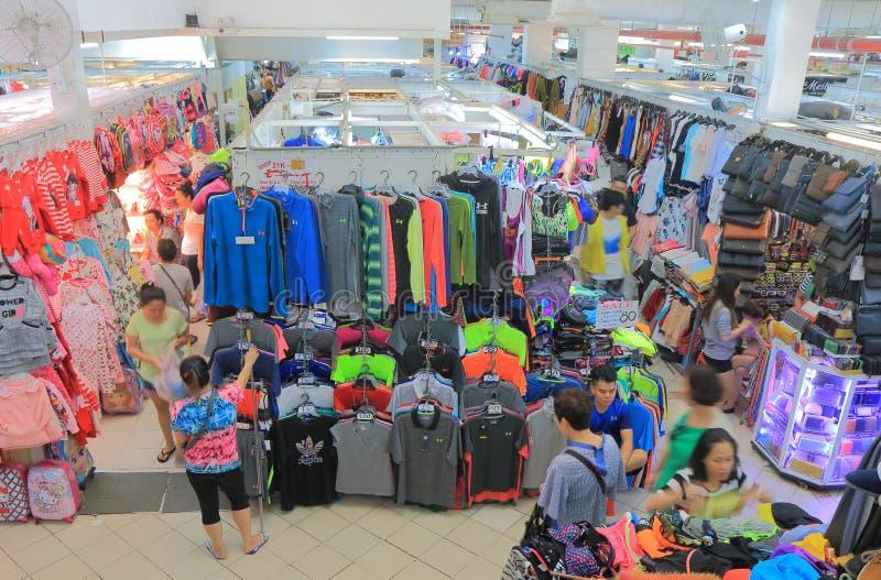 Saigon Square shopping Ho Chi Minh City Saigon Vietnam. People visit Saigon Square shopping mall stock image