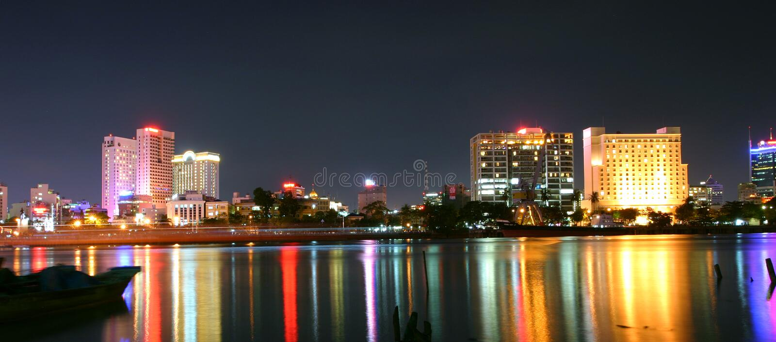 Saigon vietnam royalty free stock images