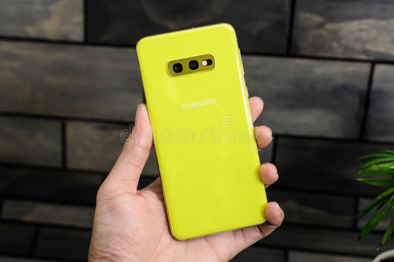 The Galaxy S10 is a fitting 10th anniversary phone for Samsung and its storied S series stock image