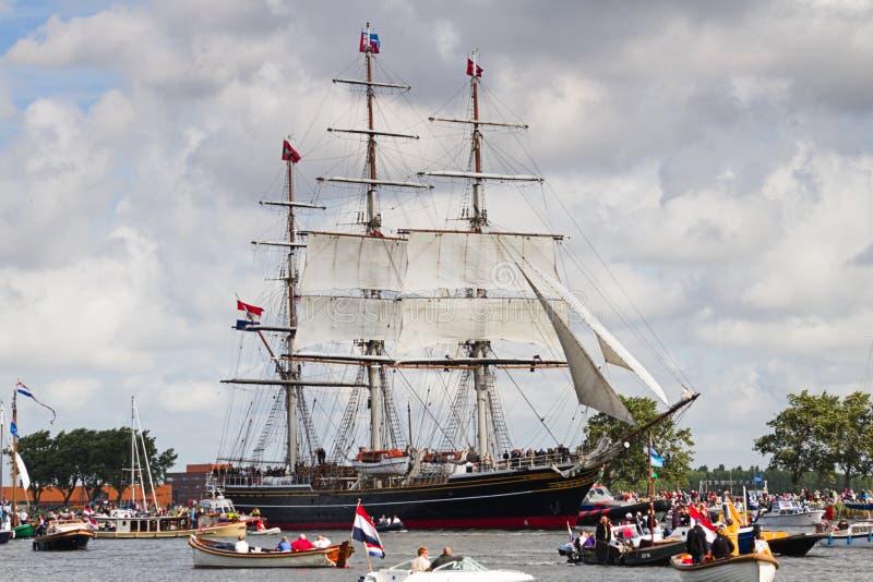 Sail Amsterdam 2010 - The Sail-in Parade Editorial Stock Image