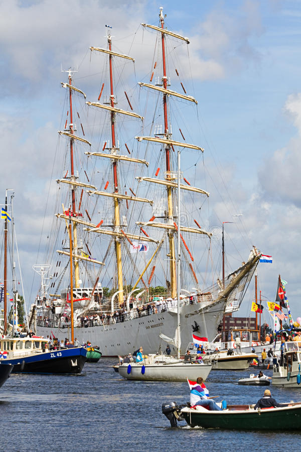 Download Sail Amsterdam 2010 - The Sail-in Parade Editorial Stock Image - Image: 15701254