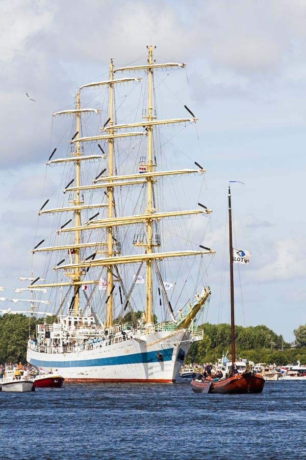 Sail Amsterdam 2010 - The Sail-in Parade Editorial Photo