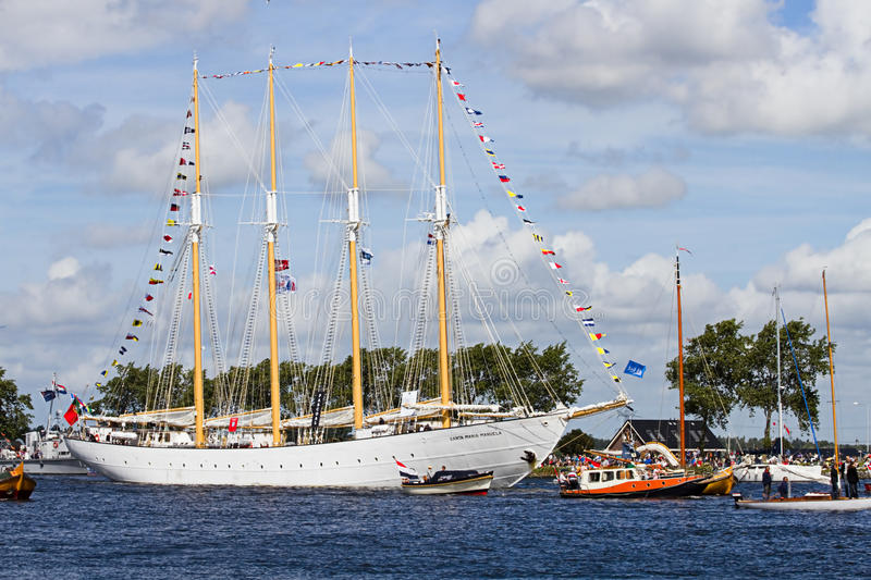 Download Sail Amsterdam 2010 - The Sail-in Parade Editorial Stock Image - Image: 15701409