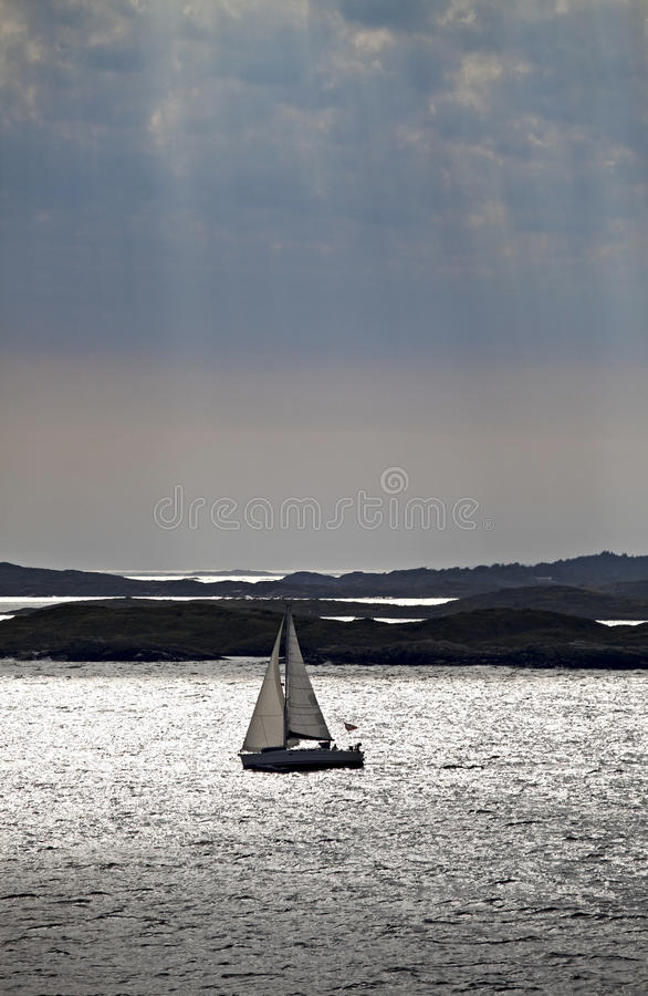 Sail boat stock images