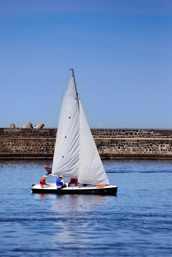 Sail-boat fotos de stock royalty free