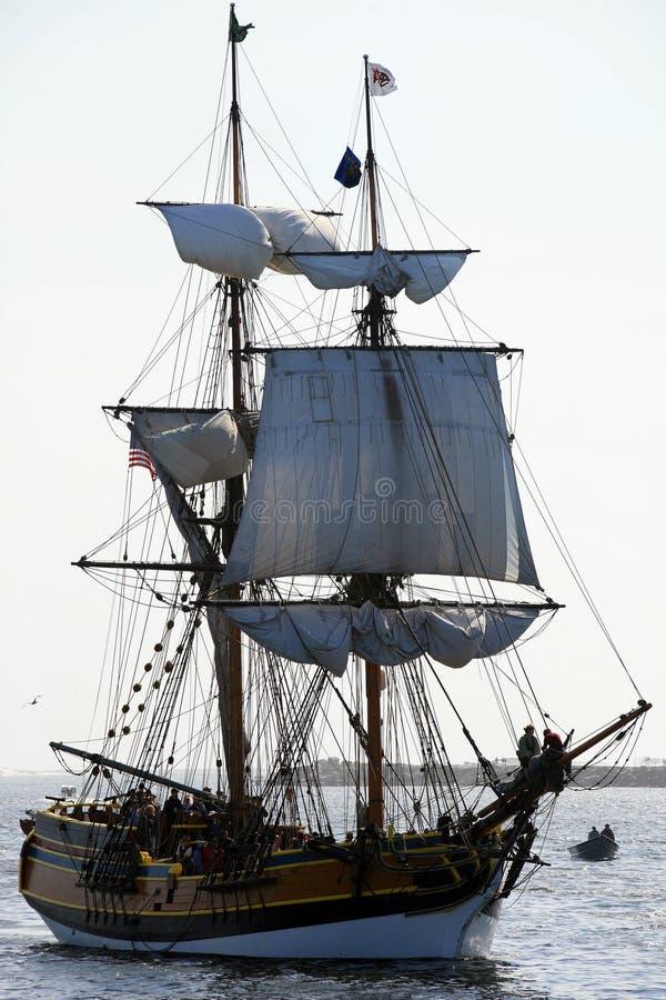 Free Sail Boat Entering Newport Stock Photography - 2767992