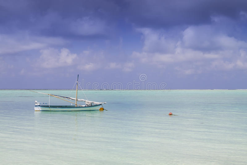 Download Sail boat and island stock image. Image of sail, pacific - 24462507