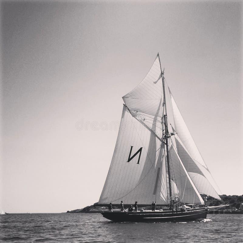 Sail Boat On Sea Free Public Domain Cc0 Image