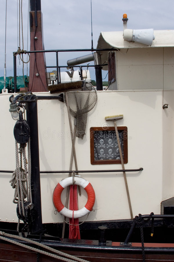 Free Sail Equipment On Deck Royalty Free Stock Photos - 1824608