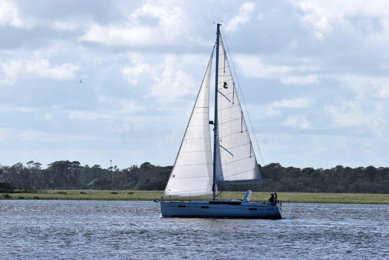 Sail, Sailboat, Water Transportation, Waterway stock photos