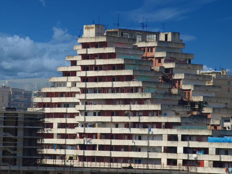 Sail of Scampia - Naples. Italy royalty free stock photography