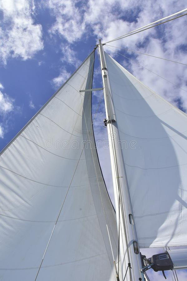 Sail, Sky, Sailboat, Sailing Ship Free Public Domain Cc0 Image
