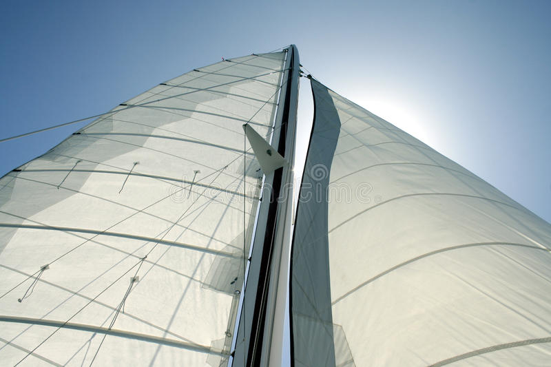 Download Sail Sky View 2 stock photo. Image of sailing, yacht - 19076362